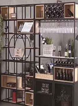 Customized wine rack
