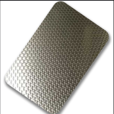 embossed stainless steel coil