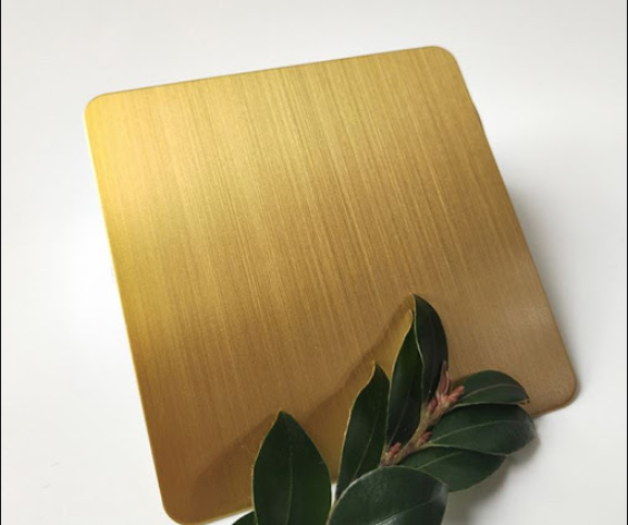 what is titanium gold stianless steel sheet