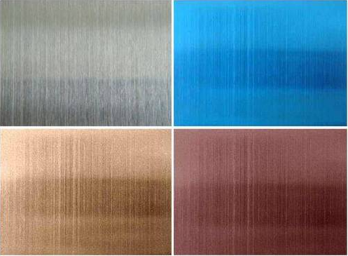 Hairline stainless steel sheet | Production&Properties